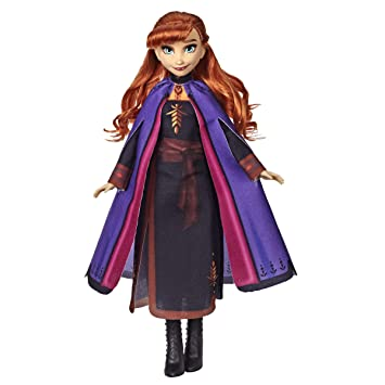 Disney Frozen Anna Fashion Doll With Long Red Hair Outfit Inspired By Frozen 2 Toy For Kids 3 Years Old Up