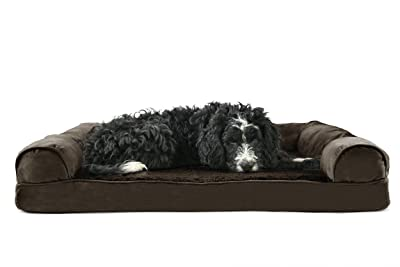 FurHaven Ultra Plush/Velvet Orthopedic Dog Couch Sofa Bed Review