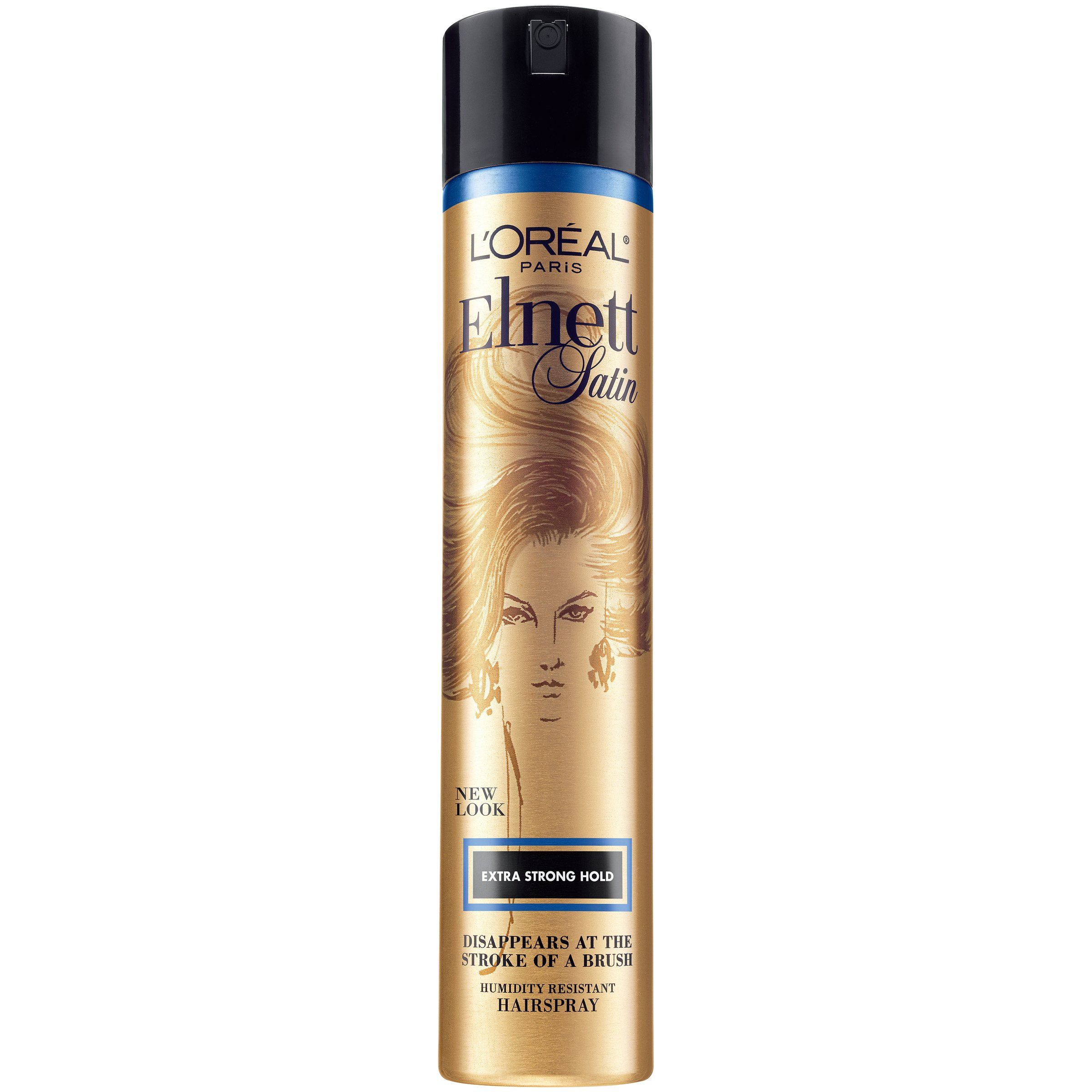 L'Oreal Paris Elnett Satin Extra Strong Hold Hairspray 11 Ounce (1 Count) (Packaging May Vary) by L'Oreal Paris