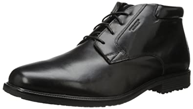 Rockport Men's Essential Details Water Proof Chukka Boot,Black,6.5 ...