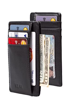 439c92883526 2 Pack - Minimalist Wallet Gift Sets - Credit Card Holders with RFID ...