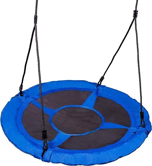 Neo de deportes Nest Balancín para jardín columpio infantil redondo capacidad de carga de 150 kg cerrado Asiento Swingo 1000: Amazon.es: Jardín