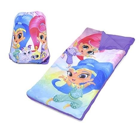 Amazon.com: Nickelodeon Shimmer and Shine Girls Sleeping Bag ...