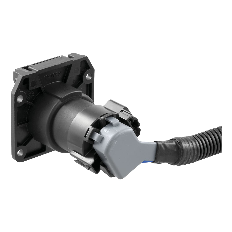 Curt Manufacturing 56071 Trailer Connector Automotive Ram 3500 Wiring Diagram On 4 Star