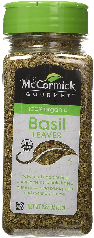 McCormick Gourmet 100% Organic Basil-2.85 oz