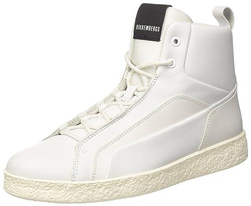 Bikkembergs Best 954, Zapatillas Altas para Mujer, Blanco (White 800), 36 EU: Amazon.es: Zapatos y complementos