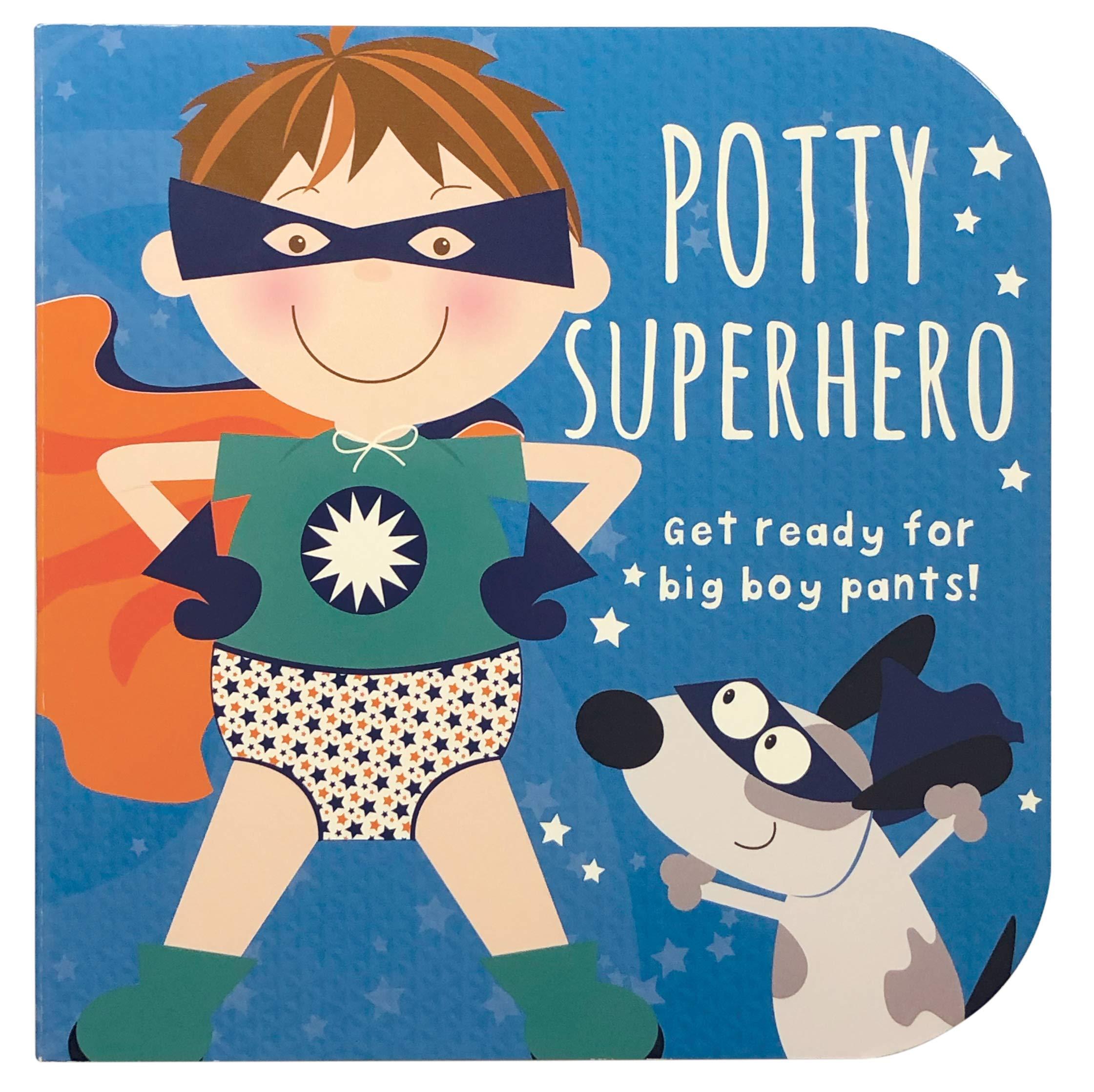 Potty Superhero: Get Ready for Big Boy Pants!: Parragon Books, Mabel  Forsyth, Mabel Forsyth: 9781680524574: Amazon.com: Books