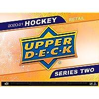 $34 » 2020/21 Upper Deck Series 2 Hockey Blaster Box - 6 Packs Plus 1 Bonus Pack - 8 Cards Each - 1 Young Guns card per box on average