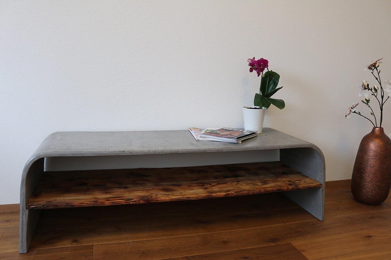 Beton Sideboard: Beistelltisch / TV Möbel von DEVIGA