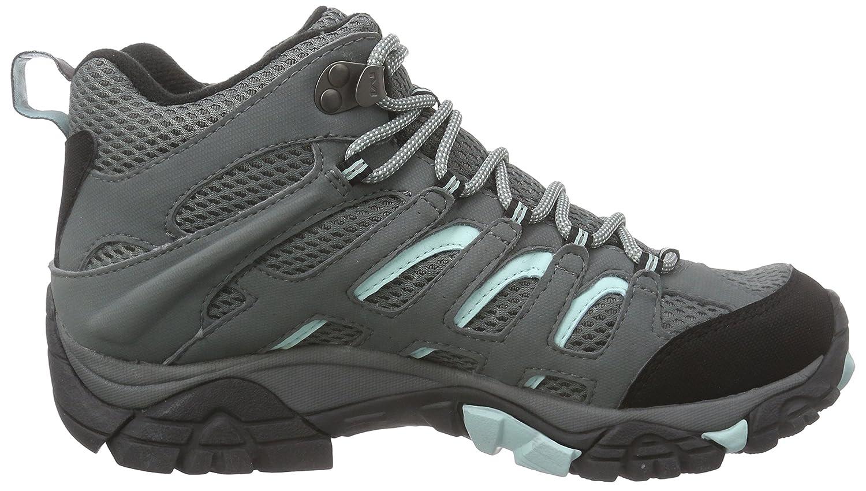 Merrell Women's Moab Mid Waterproof Gore-Tex Hiking Boot B00WQZL0EC 6.5 US|Sedona Sage