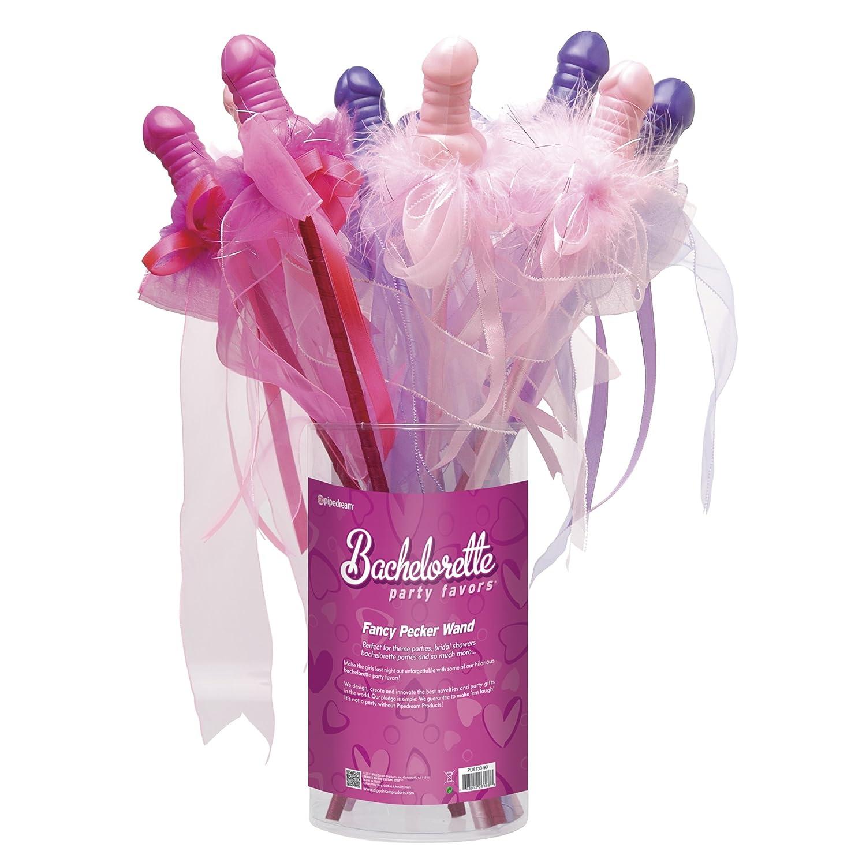 Amazon.com: Pipe Dreams Bachelorette Party Favors Fancy Pecker Wand: Health & Personal Care