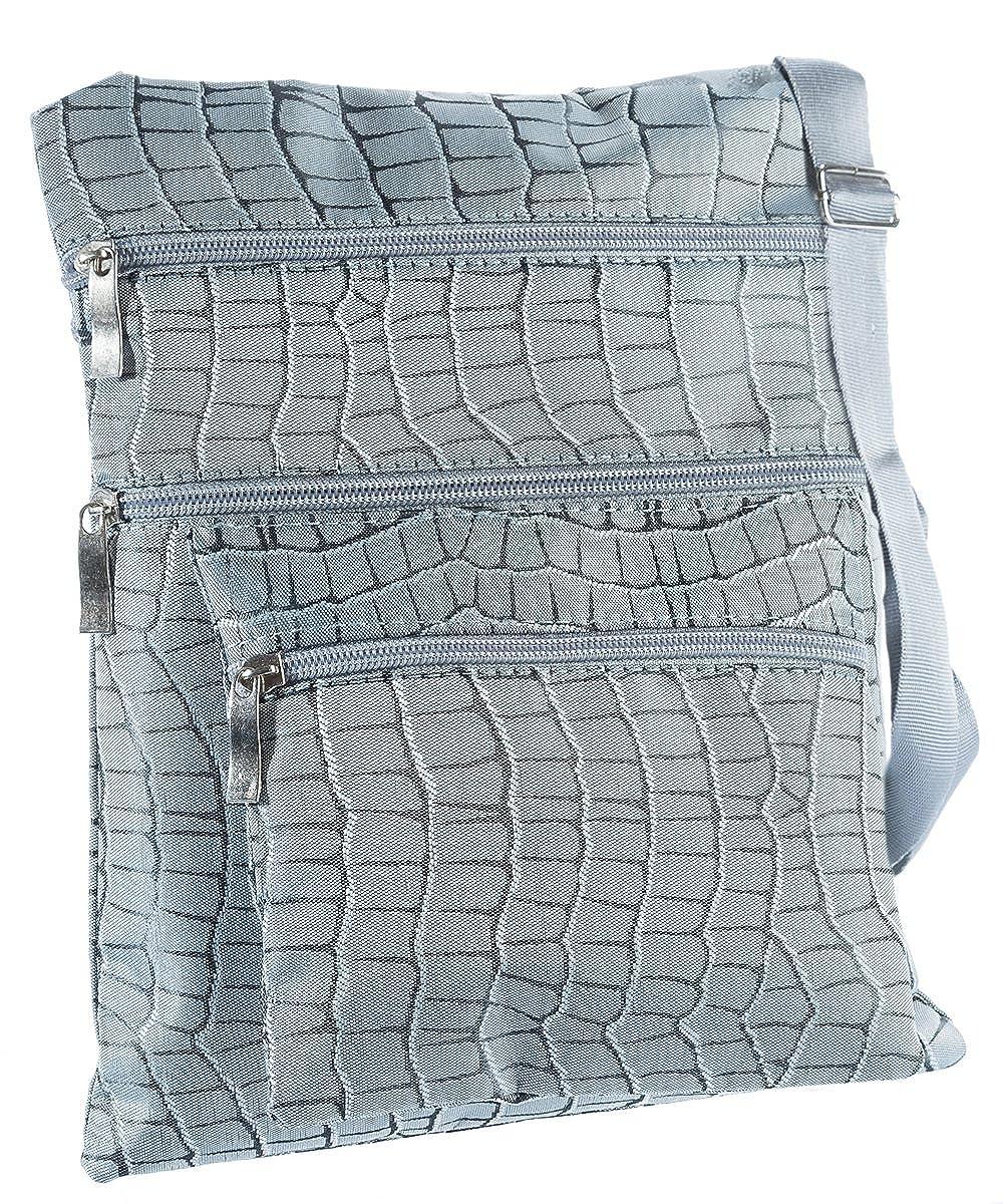 Messenger Handbag #606 Suvelle Reptile Crossbody Bag Everyday Swingpack Travel Purse