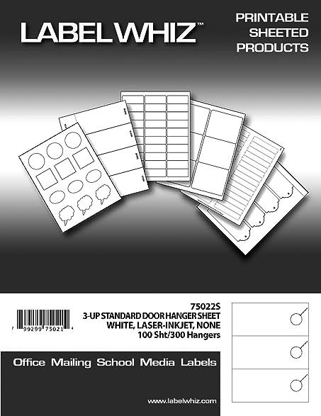 blank printable door hangers