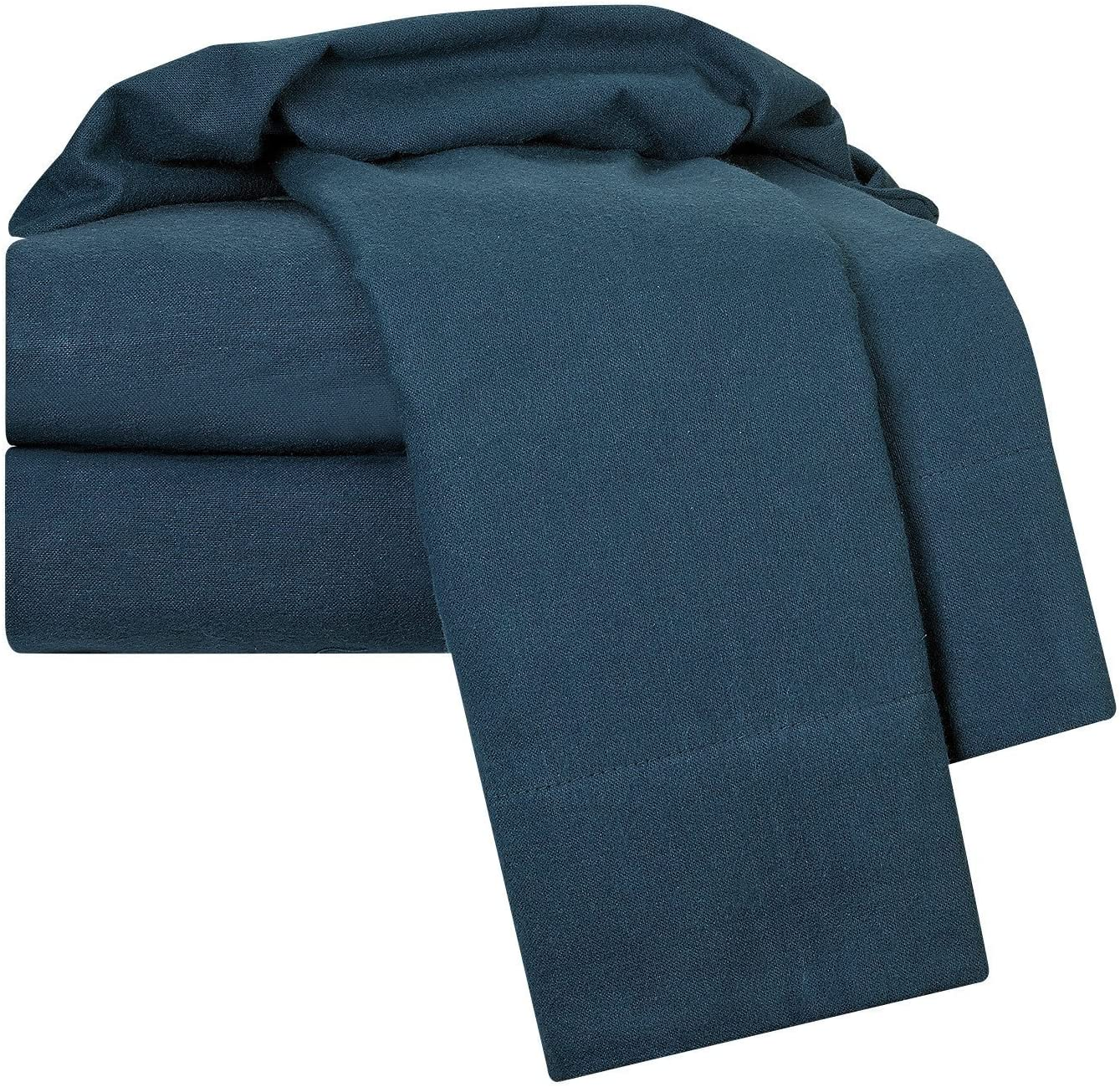 Luxurious Soft Hypoallergenic and Very Silky Bedding Fabric Enjoy A Comfortable Sleeping Experience Nestl Bedding Heavyweight 100/% Cotton Flannel Sheet Set Dark Gray Twin