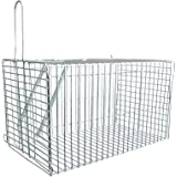 Small, Galvanised, Live Catch Mammal Trap suitable for rats, squirrels and Small Rodents with full instructions included.