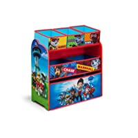 Nick Jr. Delta Children Multi-Bin Toy Organizer, Paw Patrol