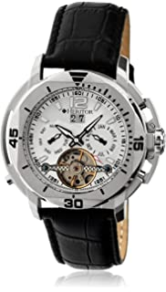 b3c9f40d4 Heritor Automatic Men's 'Lennon' Automatic Movement Stainless Steel and  Leather Watch, Color: