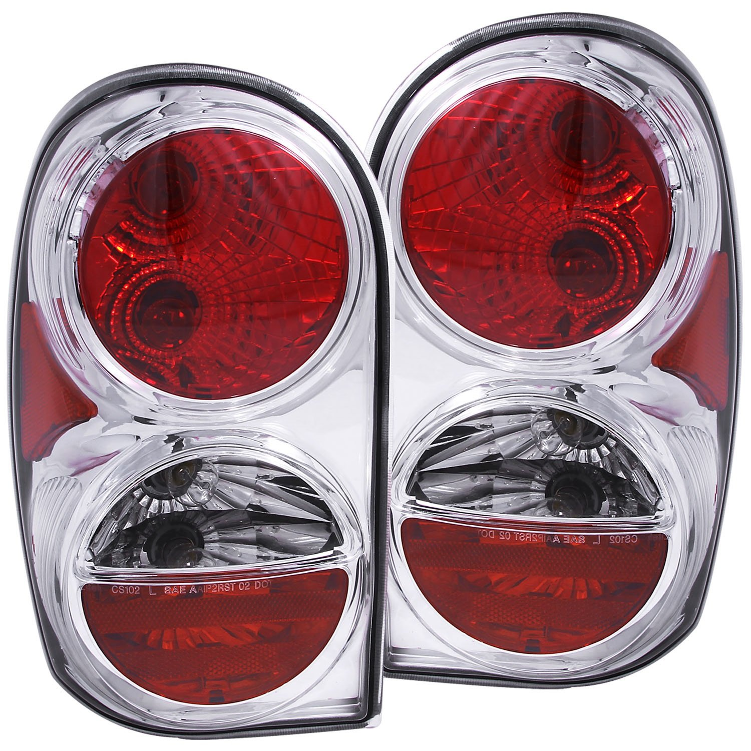AnzoUSA 221195 Smoke Taillight for Jeep Liberty Sold in Pairs Anzo USA