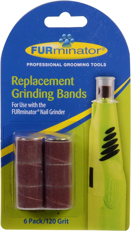 Furminator Bandas de Repuesto para Molinillo de, 6-Pack: Amazon.es: Productos para mascotas