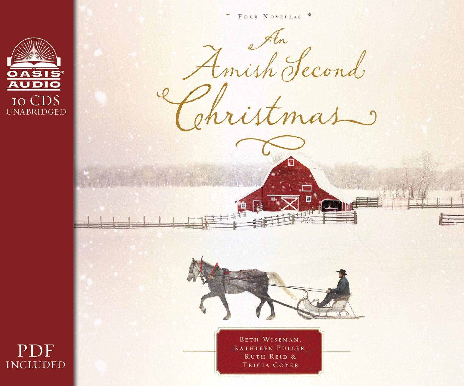 An Amish Second Christmas (Library Edition) by Oasis Audio