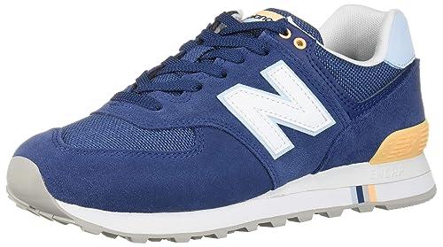 new balance wl574 mujer blue