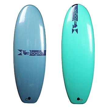 Logik 4 10 Twin Funboard avanzada espuma Tabla de surf, ...