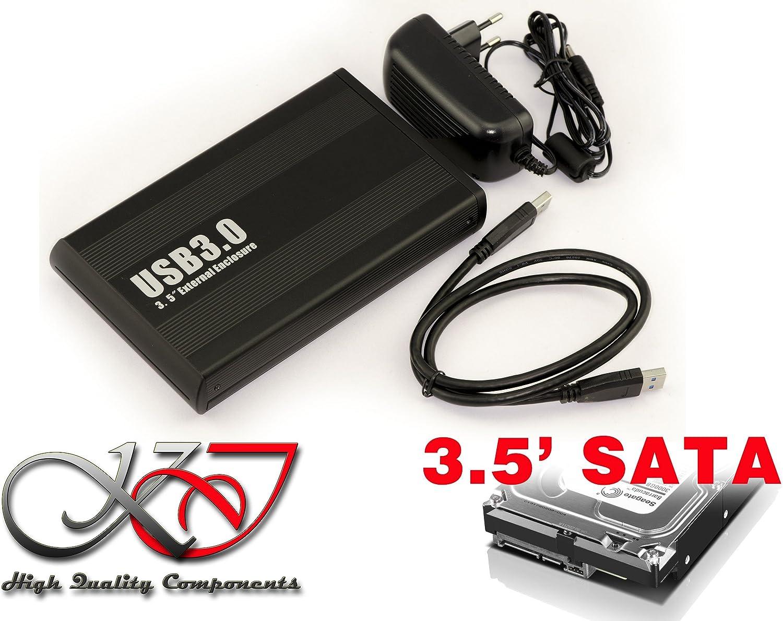 Kalea Informatique - Carcasa de aluminio para disco duro SATA de 3,5