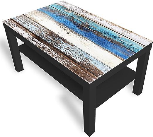 DekoGlas Ikea Mesa barnizada, mesa auxiliar, de café, sofá, incluye tablero de vidrio de todos los tamaños.: Amazon.es: Juguetes y juegos