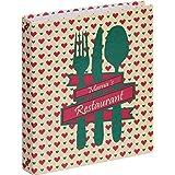 Pagna 31361 - Archivador «Mama 's» (recetario para 15 recetas, para  restaurante, de 4anillas, registro, A5)