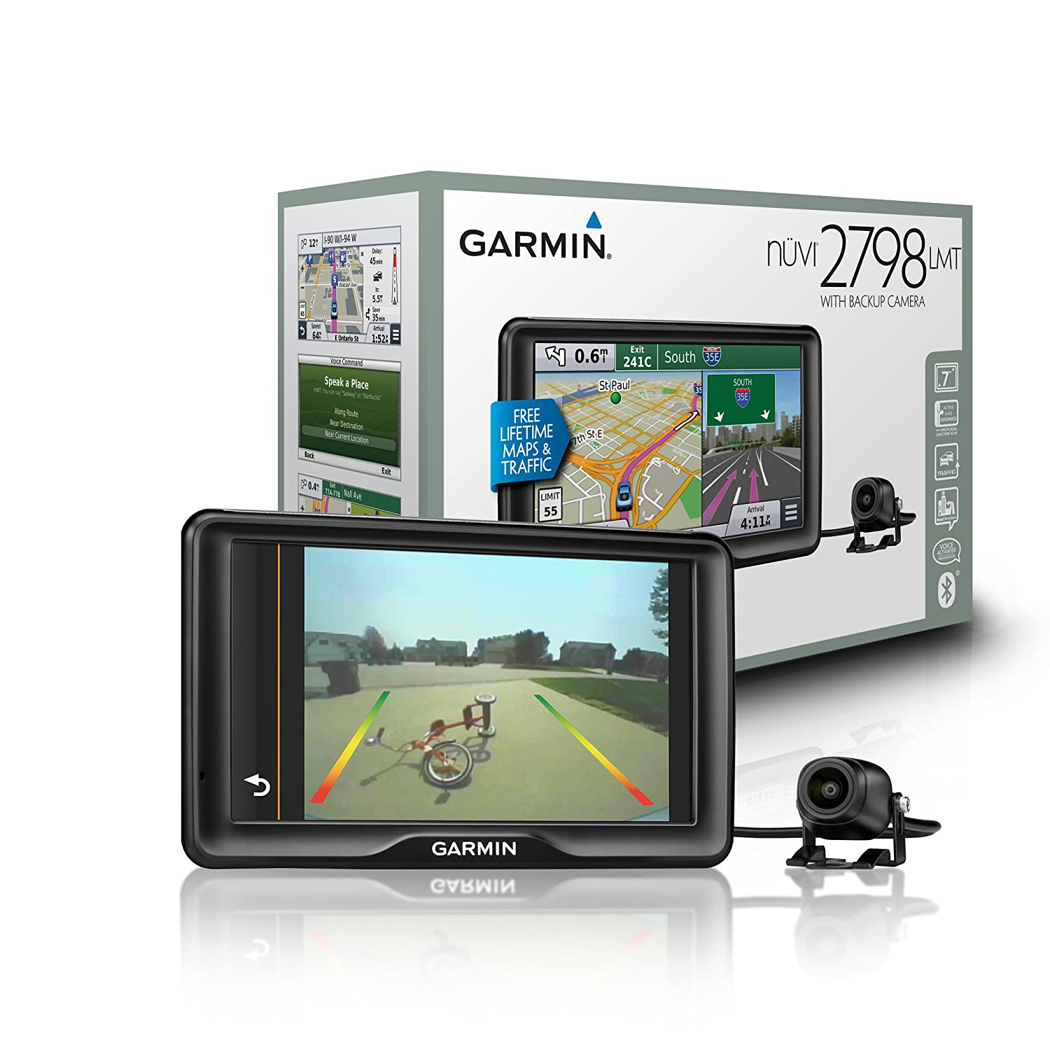 Amazoncom Garmin nvi 2798LMT Portable GPS with