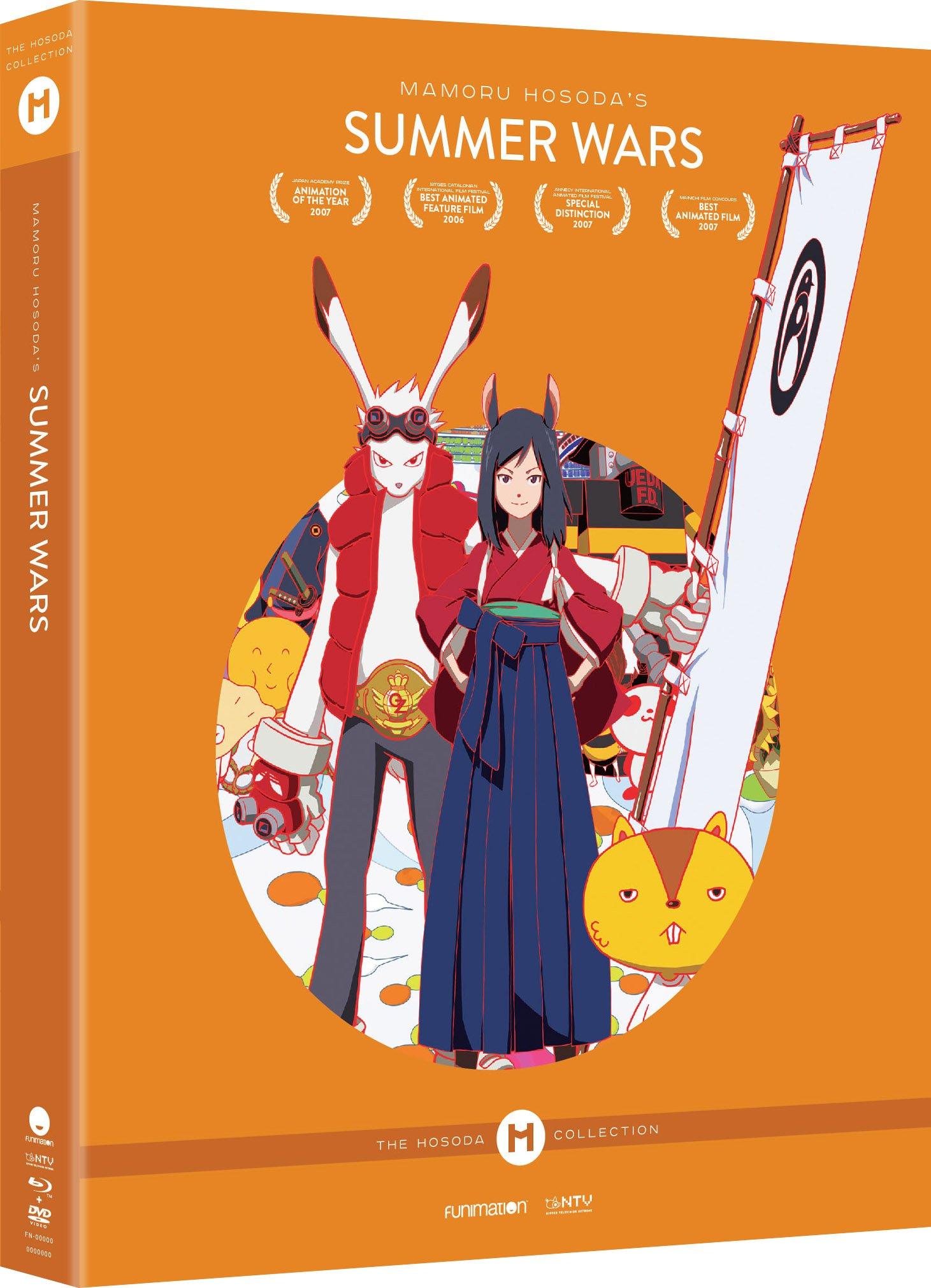 Blu-ray : Summer Wars: Hosoda Collection? Collector's Edition (With DVD, Collector's Edition, Ultraviolet Digital Copy, 3 Pack, )