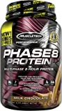 MuscleTech Phase8 Protein Powder, Sustained Release 8-Hour Protein Shake, Milk Chocolate, 2.5 Pounds (1.13kg) *Bonus Size*