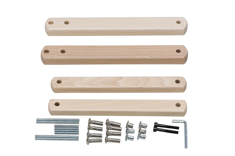 Geuther /Piezas adicionales para barrera de seguridad para escaleras beige Natur plus