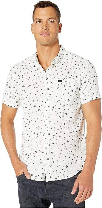 RVCA Sarah Delaney - Camisa con botones para hombre: Amazon.es: Ropa y accesorios