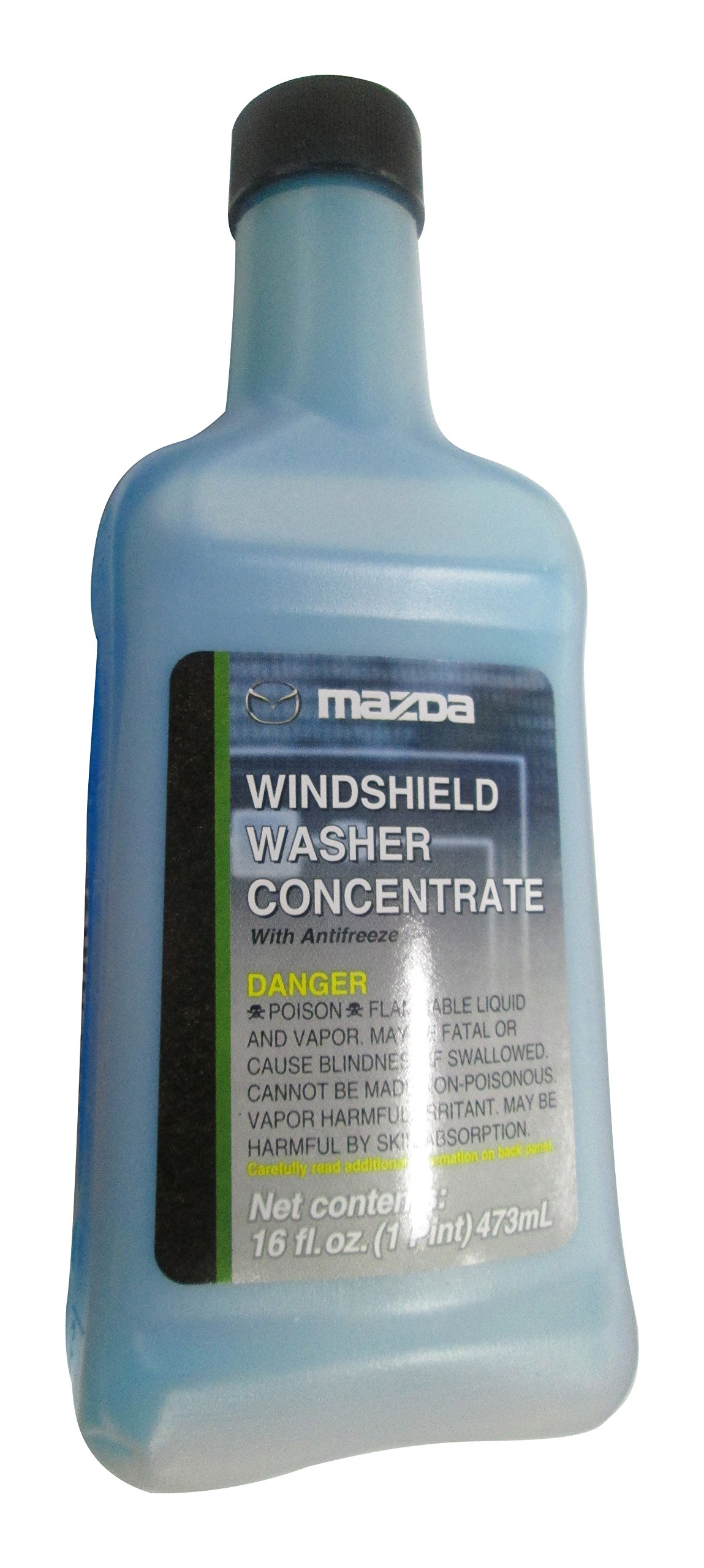 Genuine Mazda Fluid (0000-77-400E-20) Ultra-Clear Windshield Washer Concentrate - 16 oz.