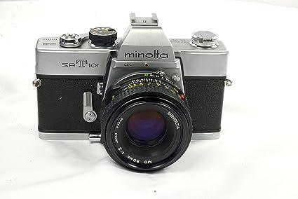 amazon com minolta camera co ltd minolta srt 101 35mm film rh amazon com minolta camera manual m35 minolta camera manuals online