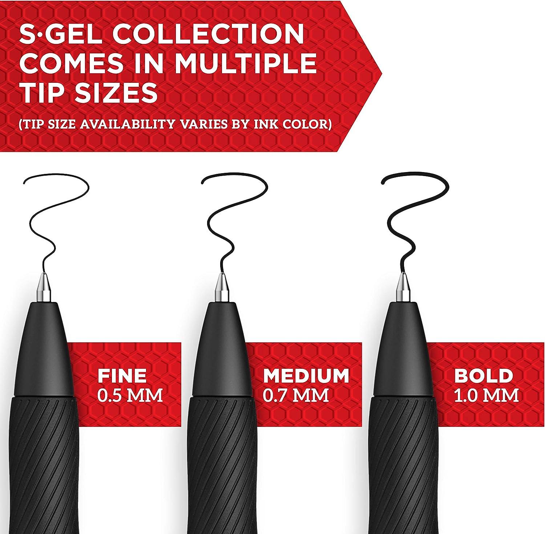 Medium Point Gel Pens Purple Gel Ink Pens 0.7mm 12 Count Sharpie S-Gel