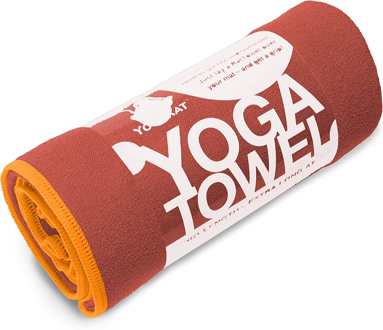 YogaRat Lightweight Microfiber Yoga Mat Towel