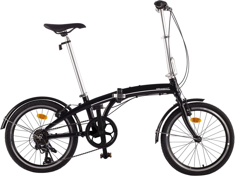 Ultrasport Shimano Revoshift Bicicleta Aluminio de 20
