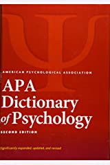 APA Dictionary of Psychology® Hardcover