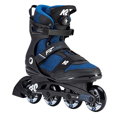 K2 Skate Mens F.I.T.80 Boa Inline Skates, Blue, 11.5 : Sports & Outdoors