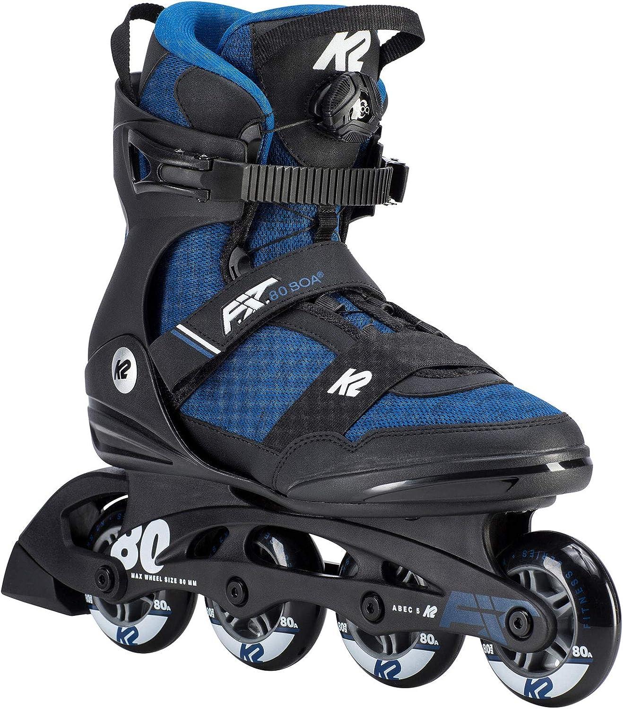 K2 インラインスケート2019 F.I.T. 80 BOA 青 サイズ:7(25cm) I190200901