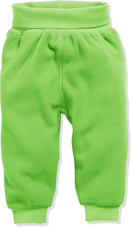 Schnizler Baby Pumphose Fleece mit Strickbund Pantaloni Sportivi Unisex-Bimbi