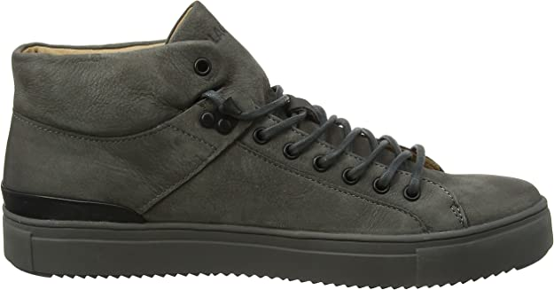 Blackstone Herren OM65 Hohe Sneaker, Grau (Graphite), 43 EU