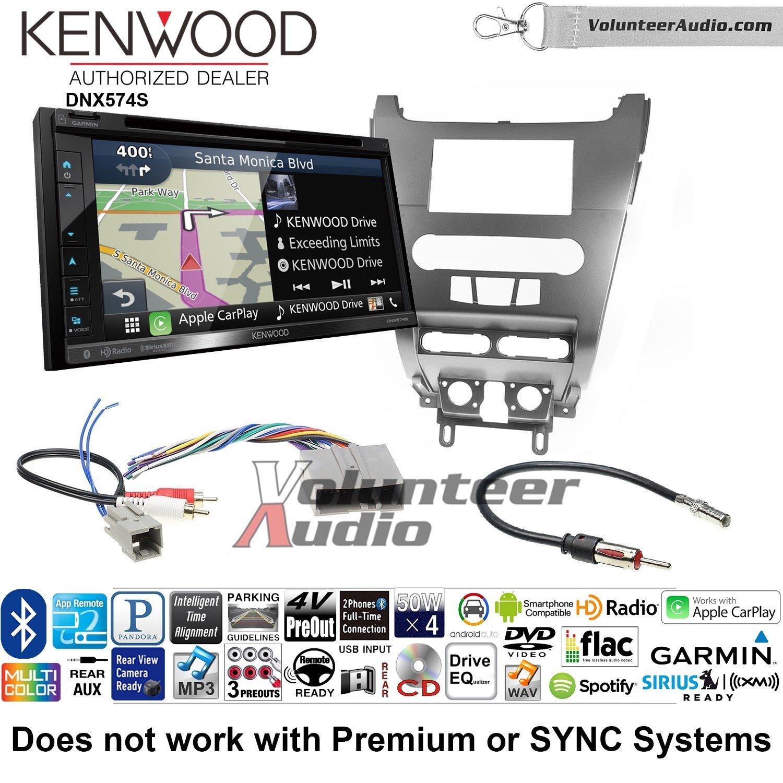 ボランティアオーディオKenwood dnx574sダブルDINラジオインストールキットwith GPSナビゲーションApple CarPlay Android自動Fits 2008 – 2011フォーカス B07C287QZK