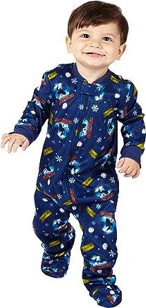 Polar Express Kids Believe Coat Front Pajama Set