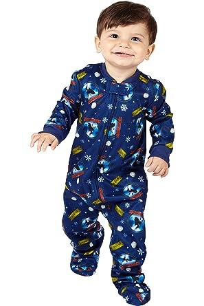 5ac8111ce1 Amazon.com  Polar Express Kids  Believe  One Piece Pajama Sleeper ...
