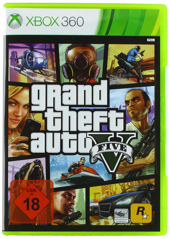 Grand Theft Auto V Xbox 360 Amazon De Games