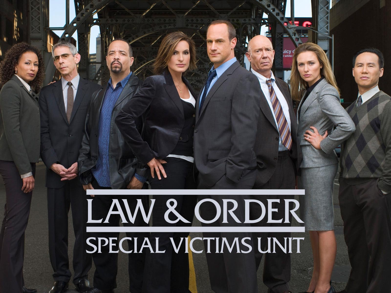 Promotional poster for LAW & ORDER: SVU.