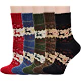 American Trends Women's Soft Comfortable Warm Thick Winter Crew Socks
